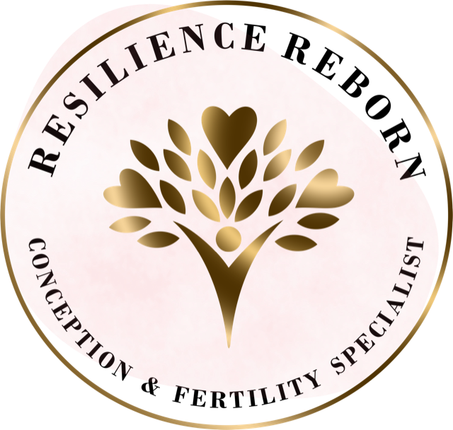 logo for resilience reborn conception and fertility specialist