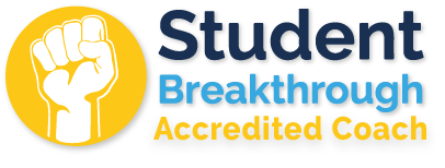 student breakthrough accredited coach logo